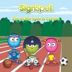 SignSpell Zip at the Sports Centre