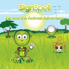 SignSpell Zip and the Animal Adventure
