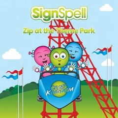SignSpell Zip at the Theme Park Book