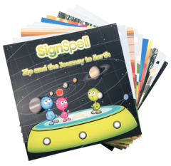 SignSpell Book Pack