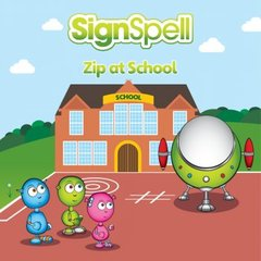 SignSpell Zip at School Book